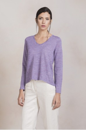 PEACH - Kuna svetr